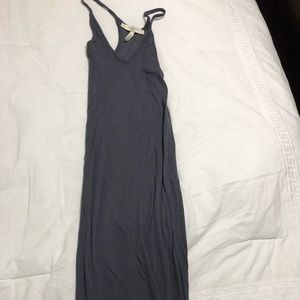BCBG fitted maxi dress